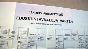 Vaalit 2015